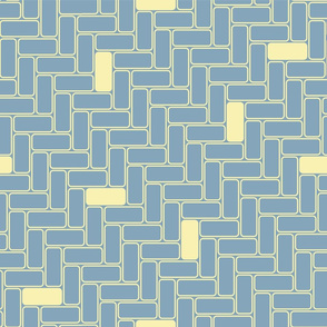 minimal maximal blocks -lemon on medium blue