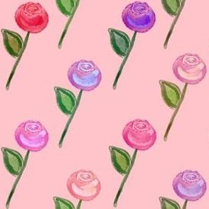 Rose Garden - Peach