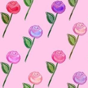 Rose Garden - Pink