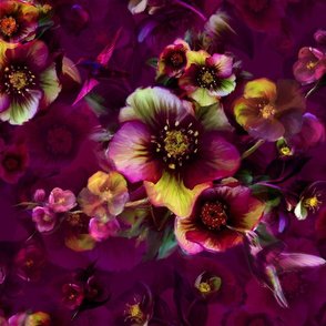 Moody florals by Odette Lager