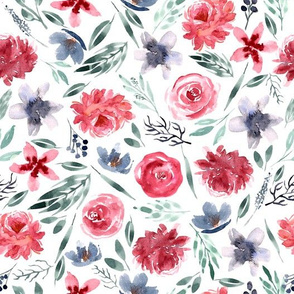Large Peony Florals