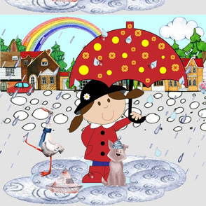 Drip drip drop Little April Showers