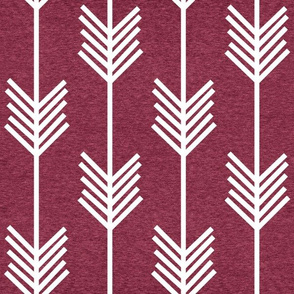 XL Arrow Stripe – Heather Cayenne