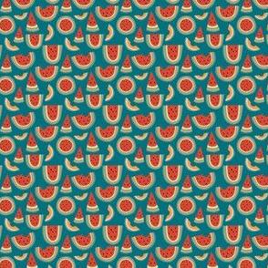Rainbow Melon Blue Mini