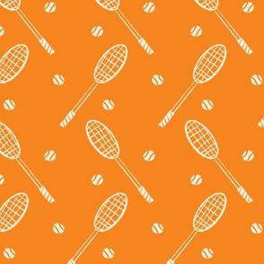 Sport-o-saurus Tennis Rackets ~ Orange
