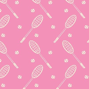 Sport-o-saurus Tennis Rackets ~ Pink