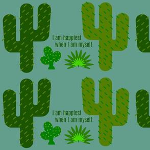 Cactus Affirmations Design Challenge