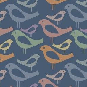 Mixed Up Midcentury Modern Danish Birds