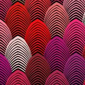 Jazz Arches - Red Black72x56x150