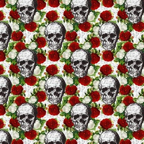 Skulls and Roses - small