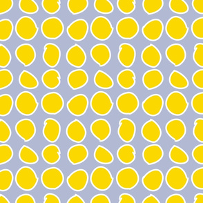 Yellow Circles on Gray