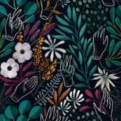 Moody  florals by Anna Alekseeva