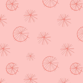 Spokes - coral