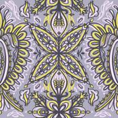 Dusty Purple Bohemian Decorative Design