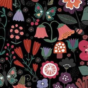 Midnight Mystery Garden