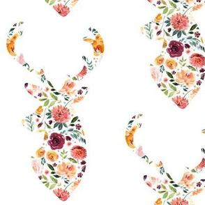 deer floral