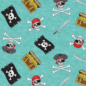 Pirate Medley - Teal - LAD19