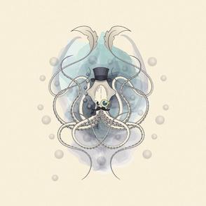 Victorian squid square