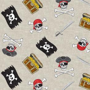 (Jumbo scale) Pirate Medley - beige - LAD19