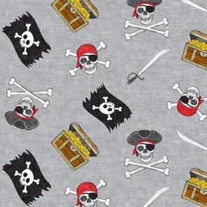 (Jumbo scale) Pirate Medley - Grey - LAD19