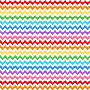 Rainbow Pop Chevrons