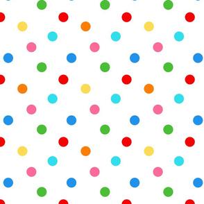 Rainbow Pop Dots