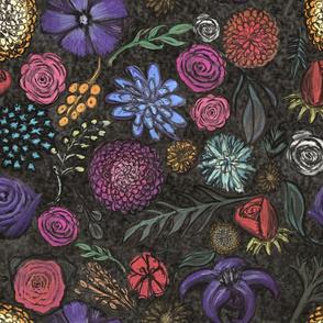 chalk floral