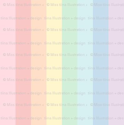 pastel rainbow lighter xl stripes 2 vertical