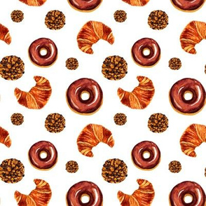 Fresh pastry pattern