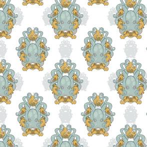 JLouden_Octopus Frame Pattern_White_noDiamond