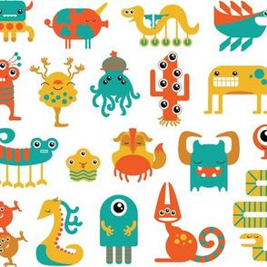 Fun Happy Monsters