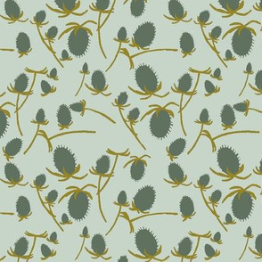 teasel - mint