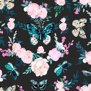 Butterfly Floral