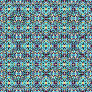 Seemingly Simple 15 in Blue Tones - TJOD Rich Life Tapestry Series