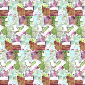 Paper Patio Planters Collage