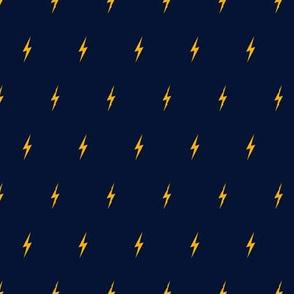 Thunderbolt Motif Pattern