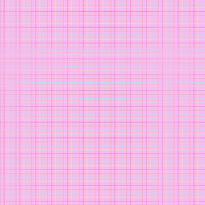 Popsicle plaid - pink