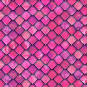 dragon scales - pink - C19BS