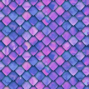 dragon scales - purple/pink 2 - C19BS