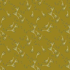 winter berry - mustard