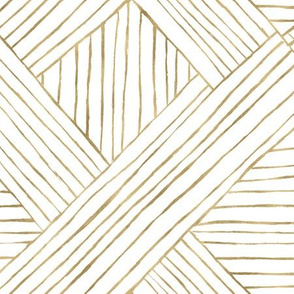 Gold Diamond Stripe