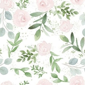 Blush Rose and Eucalyptus