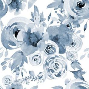 Daydream Indigo Florals
