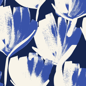Jumbo indigo flowers