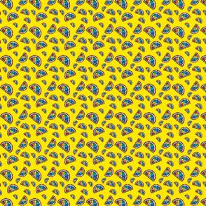IORG Logo Fabric Design Yellow
