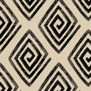 Diamond Decorum / Black & Neutral