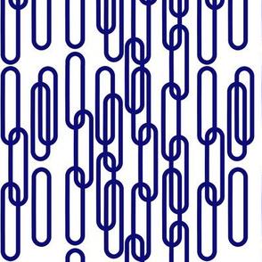 Blue Lozenge Chain by ArtGreen