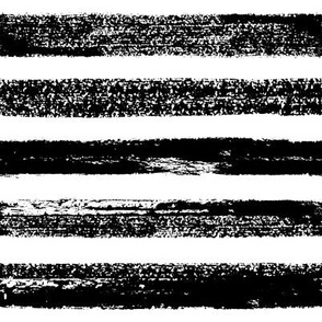 abstract grungy stripes - large scale black