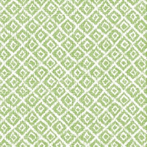 Woven Diamonds - Greenery