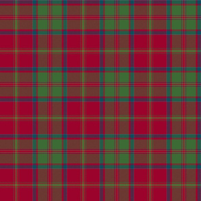 "MacDonald of Glencoe tartan - 6"" muted"